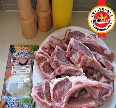 cách làm sườn cừu nướng
